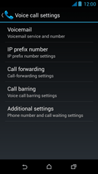 HTC Desire 310 - Voicemail - Manual configuration - Step 8