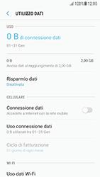 Samsung Galaxy A5 (2016) - Android Nougat - Internet e roaming dati - Come verificare se la connessione dati è abilitata - Fase 6