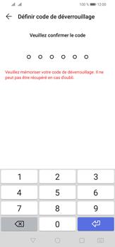 Huawei P30 Lite - Sécurité - activéz le code PIN de l'appareil - Étape 7