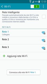 Samsung Galaxy Note 4 - WiFi - Configurazione WiFi - Fase 8