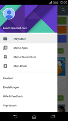 Sony Xperia Z2 - Apps - Nach App-Updates suchen - Schritt 5