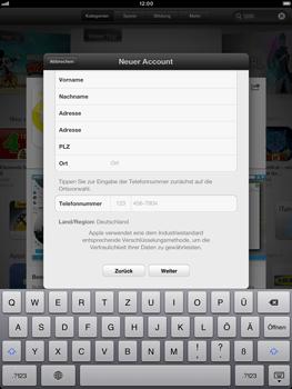 Apple iPad mini - Apps - Einrichten des App Stores - Schritt 22