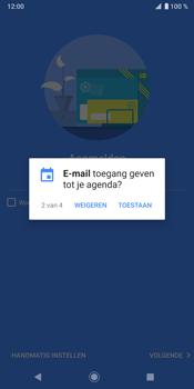 Sony Xperia XZ3 - E-mail - Handmatig instellen (outlook) - Stap 11