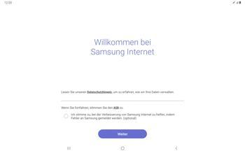 Samsung Galaxy Tab S7 - Internet und Datenroaming - Verwenden des Internets - Schritt 4