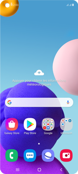 Samsung Galaxy A21s - E-mails - Envoyer un e-mail - Étape 1