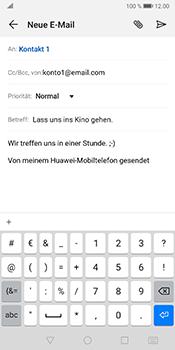 Huawei Mate 10 Pro - Android Pie - E-Mail - E-Mail versenden - Schritt 9