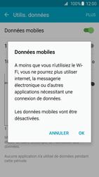 Samsung Galaxy S6 Edge - Internet et connexion - Désactiver la connexion Internet - Étape 6