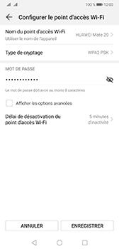 Huawei Mate 20 - Internet - comment configurer un point d'accès mobile - Étape 7