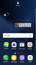 Samsung Galaxy S7 - Operazioni iniziali - Installazione di widget e applicazioni nella schermata iniziale - Fase 6