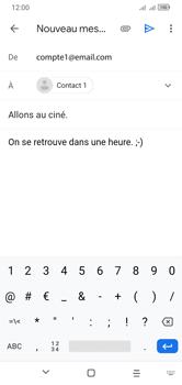 Alcatel 1S (2020) - E-mails - Envoyer un e-mail - Étape 9