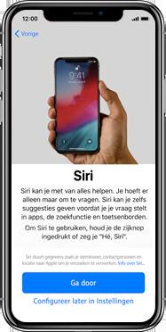Apple iphone-xs-max-met-ios-13-model-a1921 - Instellingen aanpassen - Activeer het toestel en herstel jouw iCloud-data - Stap 25