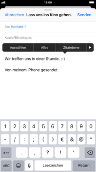 Apple iPhone 7 Plus - E-Mail - E-Mail versenden - 9 / 16