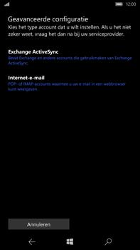 Microsoft Lumia 950 XL - E-mail - handmatig instellen - Stap 8