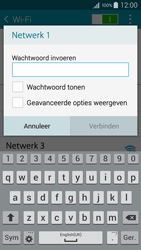 Samsung A500FU Galaxy A5 - WiFi - Handmatig instellen - Stap 7