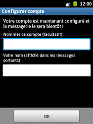 Samsung S5300 Galaxy Pocket - E-mail - Configuration manuelle - Étape 16