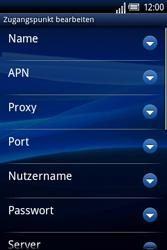 Sony Ericsson Xperia X8 - MMS - Manuelle Konfiguration - 1 / 1