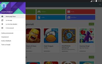 Samsung T535 Galaxy Tab 4 10.1 - Applicazioni - Come verificare la disponibilità di aggiornamenti per l