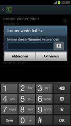 Samsung I9300 Galaxy S III - Anrufe - Rufumleitungen setzen und löschen - Schritt 8