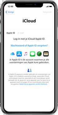 Apple iphone-xs-max-met-ios-13-model-a1921 - Instellingen aanpassen - Activeer het toestel en herstel jouw iCloud-data - Stap 16
