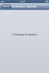 Apple iPhone 4S - Software - Installing software updates - Step 7