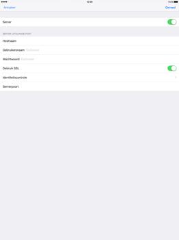 Apple iPad Pro 12.9 inch (Model A1671) - E-mail - Handmatig instellen - Stap 20