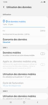 Samsung Galaxy A50 - Internet et roaming de données - Comment vérifier que la connexion des données est activée - Étape 6