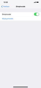 Apple iPhone XR - Beveiliging - Stel de pincode voor je simkaart in - Stap 12