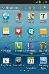 Samsung S6810P Galaxy Fame - Internet - Navigation sur Internet - Étape 2