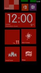 HTC Windows Phone 8X - Getting started - Personalising your Start screen - Step 10