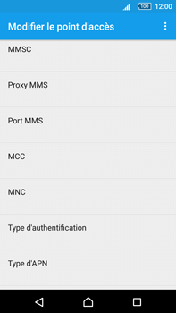 Sony Xperia Z5 Premium (E6853) - MMS - Configuration manuelle - Étape 14