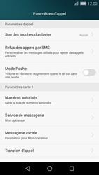 Huawei P8 Lite - Messagerie vocale - Configuration manuelle - Étape 5