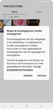 Samsung Galaxy Note9 - E-mail - hoe te versturen - Stap 14