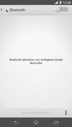 Sony Xperia Z1 - Bluetooth - Geräte koppeln - Schritt 7
