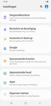 Samsung Galaxy S8+ - Android Pie (SM-G955F) - Beveiliging en ouderlijk toezicht - Zoek mijn mobiel inschakelen - Stap 4