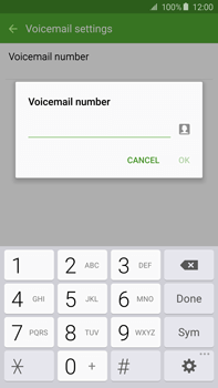 Samsung N920 Galaxy Note 5 - Voicemail - Manual configuration - Step 8