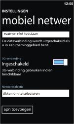 Nokia Lumia 710 - netwerk en bereik - gebruik in binnen- en buitenland - stap 8