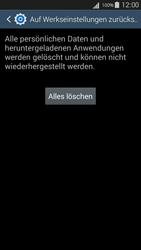 Samsung Galaxy S III Neo - Fehlerbehebung - Handy zurücksetzen - 10 / 12