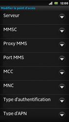 Sony ST25i Xperia U - MMS - configuration manuelle - Étape 12