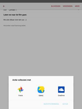 Samsung T815 Galaxy Tab S2 9.7 - E-mail - E-mails verzenden - Stap 13