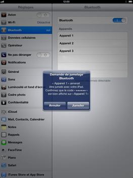 Apple iPad mini - Bluetooth - Jumelage d