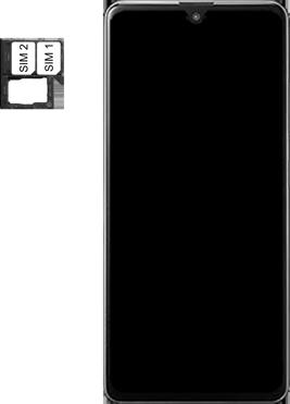 Samsung Galaxy A41 Dual-SIM (SM-A415F) - Instellingen aanpassen - SIM-Kaart plaatsen - Stap 5