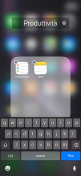 Apple iPhone XR - Operazioni iniziali - Personalizzazione della schermata iniziale - Fase 7