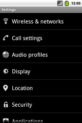 Alcatel OT-991 Smart - Voicemail - Manual configuration - Step 4