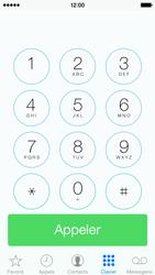 Apple iPhone 5c - Contact, Appels, SMS/MMS - Utiliser la visio - Étape 3
