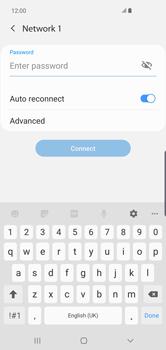 Samsung Galaxy S10 Plus - WiFi - WiFi configuration - Step 8