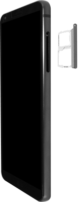 LG G6 - Android Oreo - SIM-Karte - Einlegen - Schritt 4