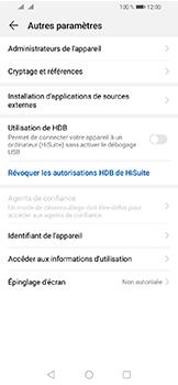 Huawei Y6 (2019) - Sécuriser votre mobile - Personnaliser le code PIN de votre carte SIM - Étape 5