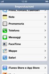 Apple iPhone 3GS - Applicazioni - Configurazione del negozio applicazioni - Fase 3