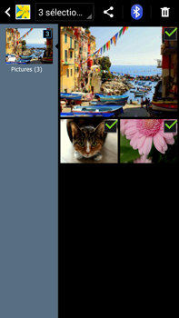 Samsung Galaxy Note 3 - Photos, vidéos, musique - Envoyer une photo via Bluetooth - Étape 9