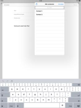 Apple iPad Pro - E-mail - E-mail versturen - Stap 5